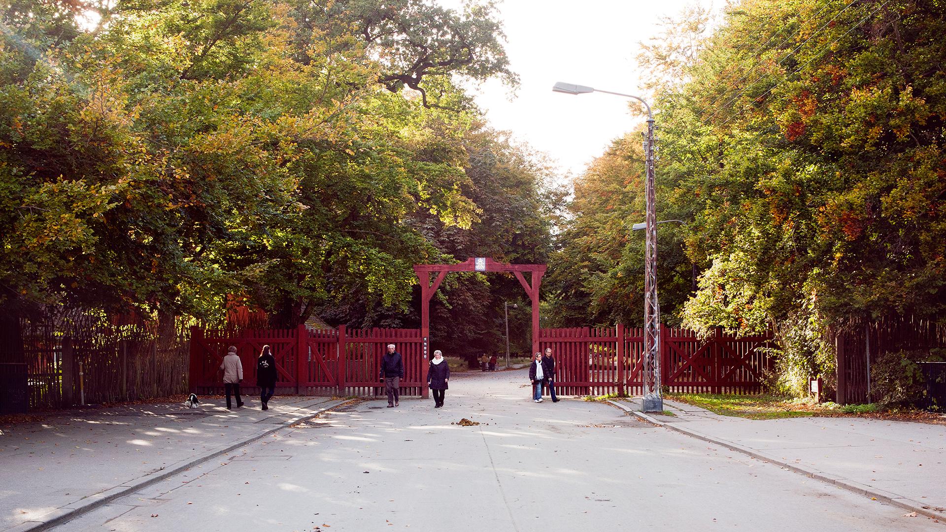 røde porte dyrehaven