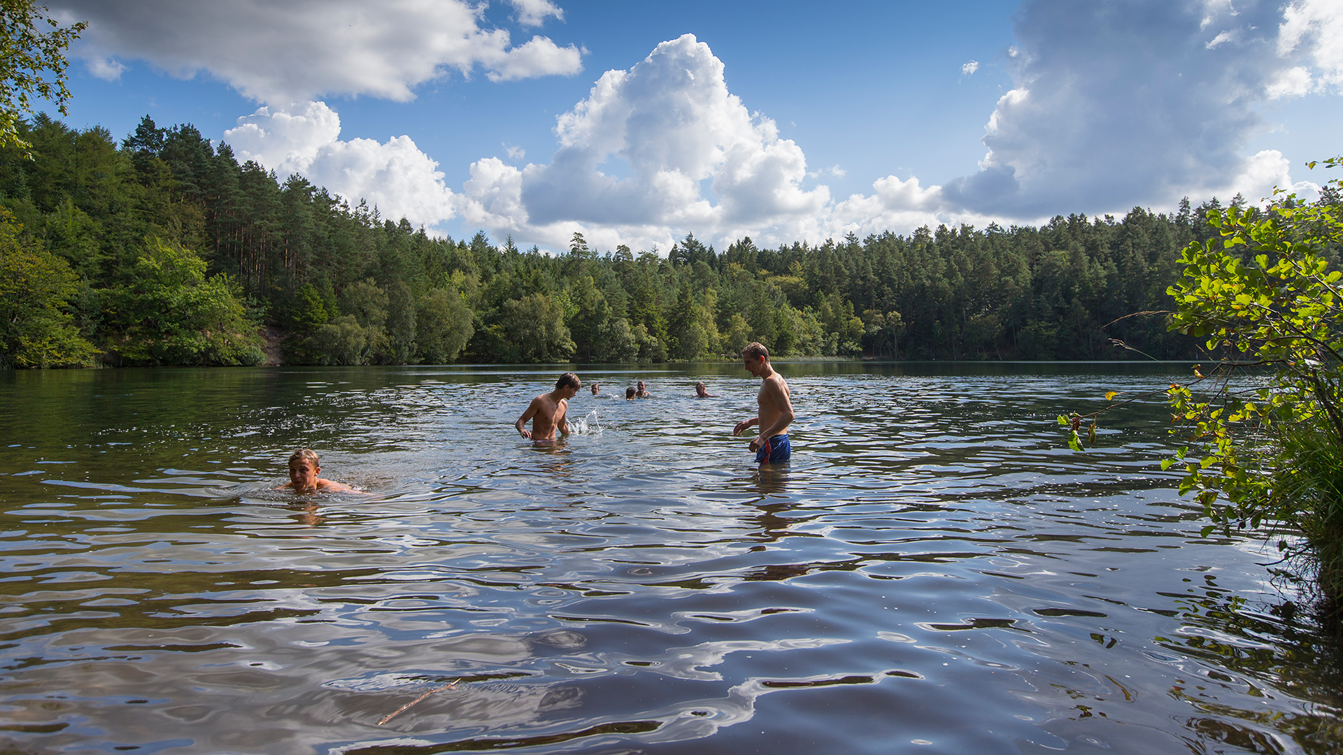 silkeborg søerne bade