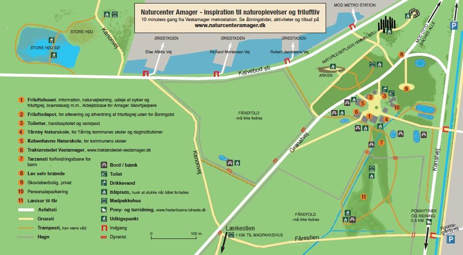 Find Naturcentervestamager