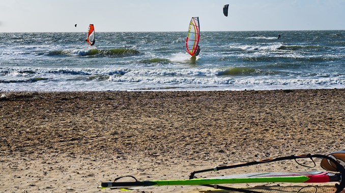 Windsurfers. Foto: Frank Bach, Colourbox