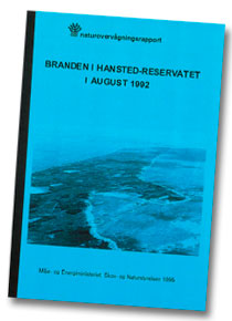 Rapporten Branden i Hansted-reservatet i august 1992