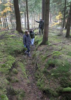 Skyttegrave Bunkers Vesterskoven