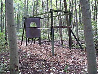 Forhindringsbane skov